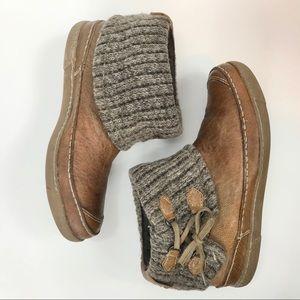 Steve Madden Meadoe Leather Ankle Bootie sweater 9
